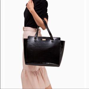 kate spade Bags - Kate Spade| Elissa Bristol Drive Croc Leather Tote